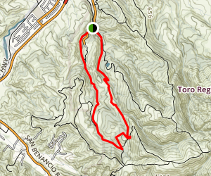 Gilson Gap Loop Trail Map