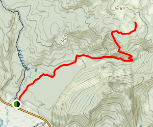 Soda Creek Trail Map