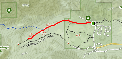 Grover Hot Springs State Park Waterfall Trail Map