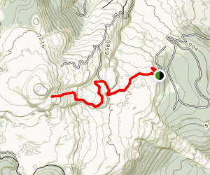 Glass Mountain Trail Map