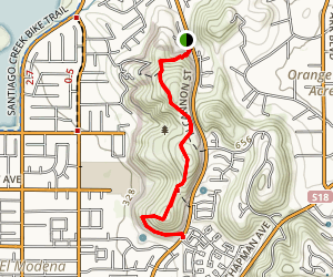 Orange Hills Trail Map