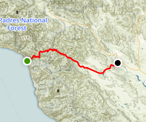 Nacimiento-Fergusson Road Map