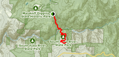 Missouri Bar Trail Map
