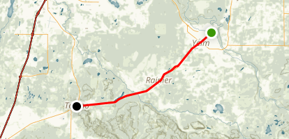 Yelm Tenino Trail Map