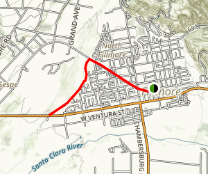 Fillmore Trail  Map
