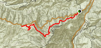 Sunset Ridge Road Map