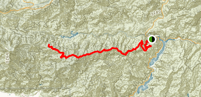 Rincon-Shortcut OHV Route Map