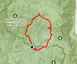 Redrock Meadows / Templeton Mountain Loop Map