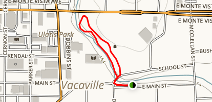 Andrews Park Loop Trail Map