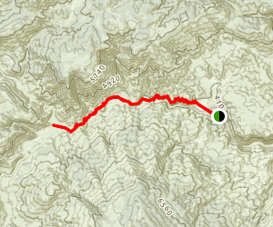 Gold Hill OHV Trail Map