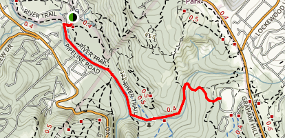 Eagle Creek Trail Map