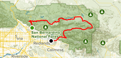 Rim Of The World Scenic Byway San Bernardino To Redlands