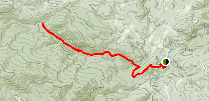 Little Beaver Creek Trail Map