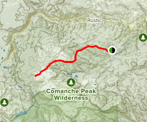 Flowers Trail Map