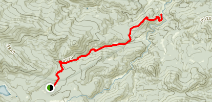 Fish Creek Trail Map