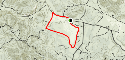 Holcomb Valley Historic Settlement Map