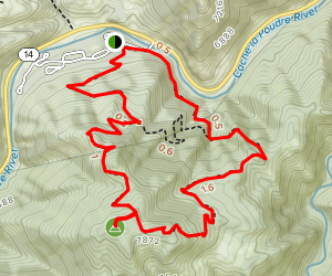 Mount McConnel Trail Map