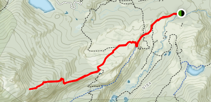 Old Morrell Trail Map