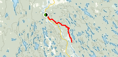 North Granite Ridge Trail Map