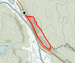 Gibraltar Rock Loop Map