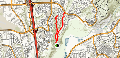 South Rueda Canyon Trail Map