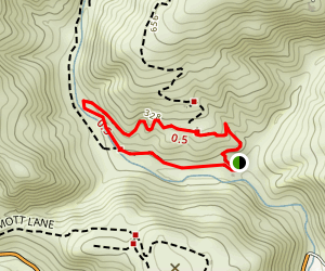 TRW Loop Trail Map