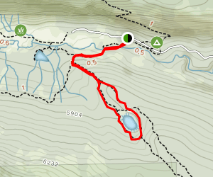 Boiling Springs Lake Loop Trail Map