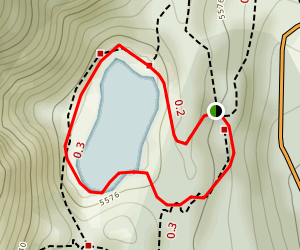 Crystal Lake Trail Map