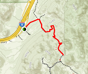 Smugglers Cave Trail Map