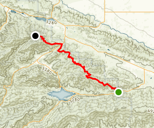Grass Mountain Leona Divide Truck Trail Map