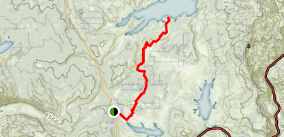 Emigrant Trail Map