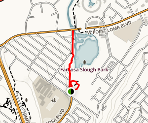 Famosa Slough Trail Map