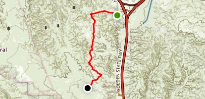 Pronghorn Trail Map