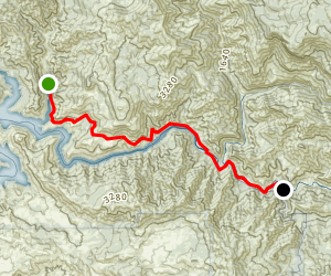 Trimmer Springs Road Map