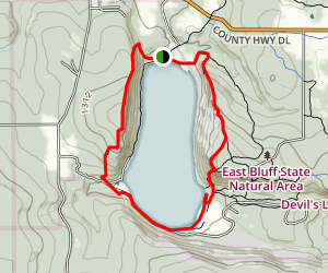 Devil's Lake Loop Map