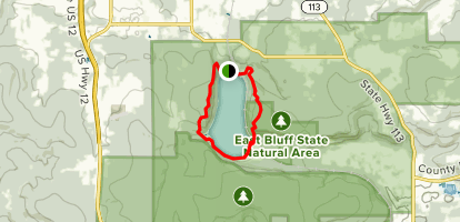 Devils Lake Map Devil's Lake Loop   Wisconsin | AllTrails
