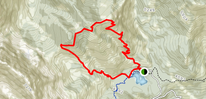 Mount Baldy Map