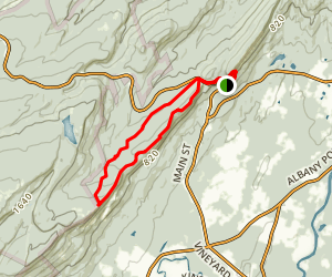 Millbrook Ridge Trail Map