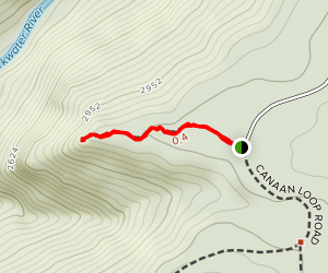 Lindy Point Overlook Map
