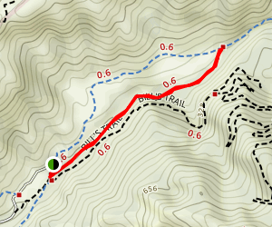 Stairstep Falls Trail [CLOSED] Map