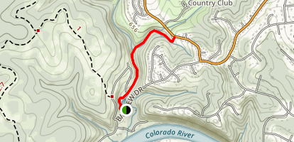 Little Fern Trail at Riverplace Map