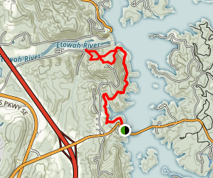 Vineyard Mountain Trail Map