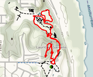 Woodland Loop Trail Map