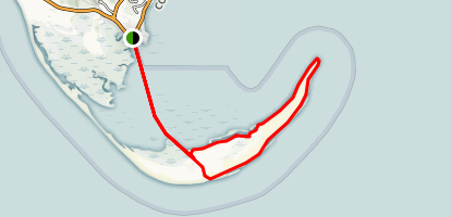 Long Point Lighthouse Trail Map