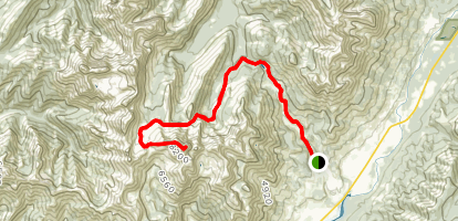 Three Sisters Summit Map