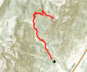 Ghostrider Mountain Trail Map