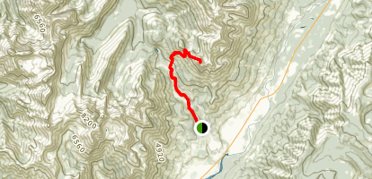 Ghost Rider Mountain Trail Map
