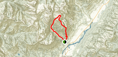 Mount Proctor Trail Map