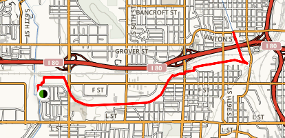 South Omaha Trail Map
