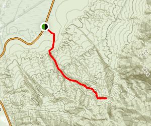 Sidewinder Canyon Map